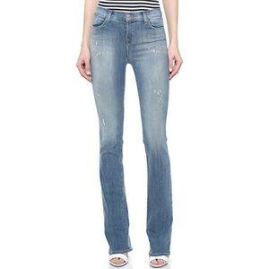J Brand Remy Mesmerize High Rise Bootcut Jeans 26